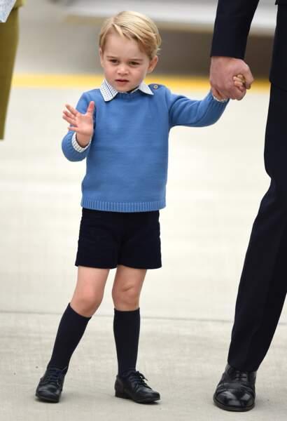Visite de la famille royale au Canada en Septembre 2016
