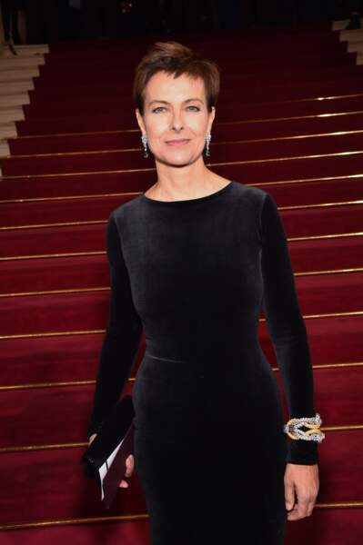 Carole Bouquet à la cérémonie des César en 2016