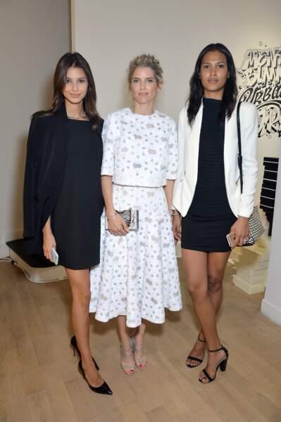Alice Taglioni, Bruna Lirio et Thayna Silva Santos
