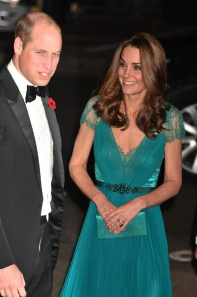 Kate Middleton et le prince William, très élégants, affichent une belle complicité