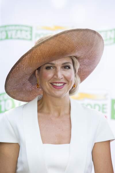 La reine Maxima des Pays-Bas à Amsterdam, septembre 2016.    Utrecht Robin/ABACAPRESS.COM