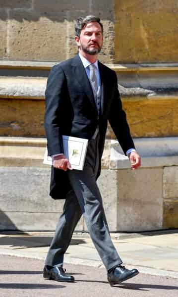 Il a naturellement reçu son carton pour les noces princières du 19 mai dernier.