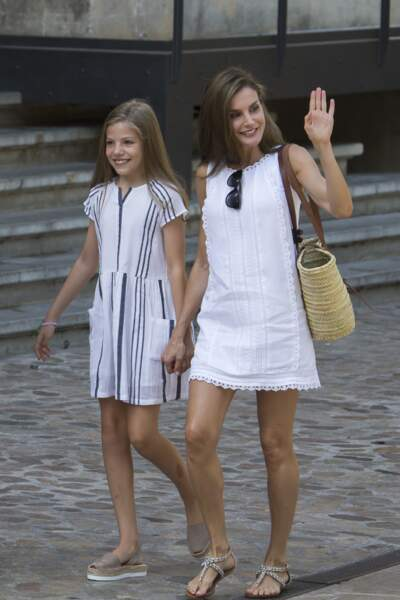 La princesse Leonor d'Espagne ressemble de plus en plus à Letizia d'Espagne