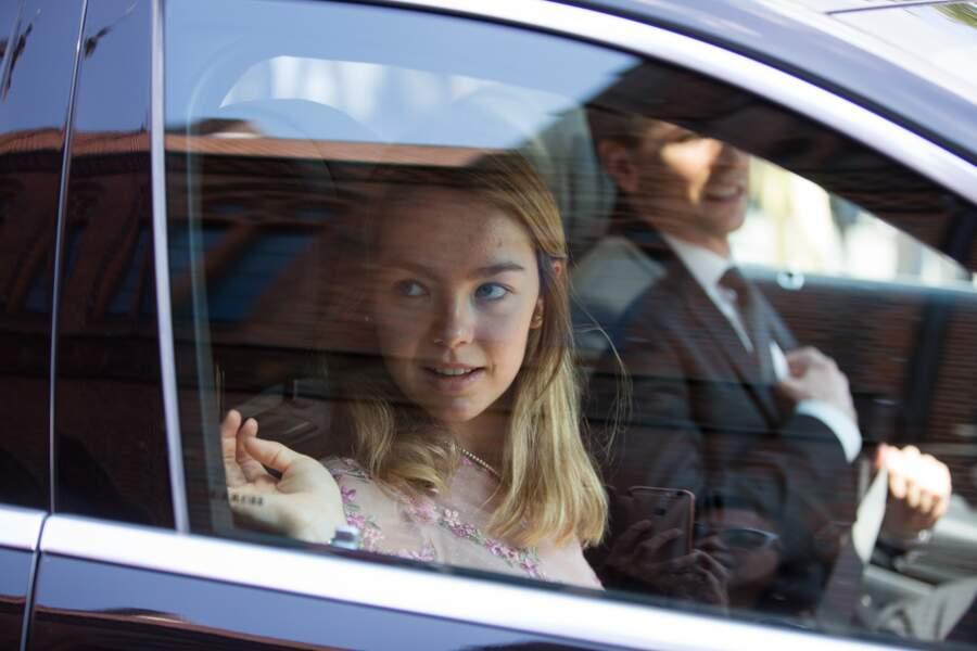 La princesse Alexandra de Hanovre et son compagnon Ben-Sylvester Strautmann le 8 juillet 2017