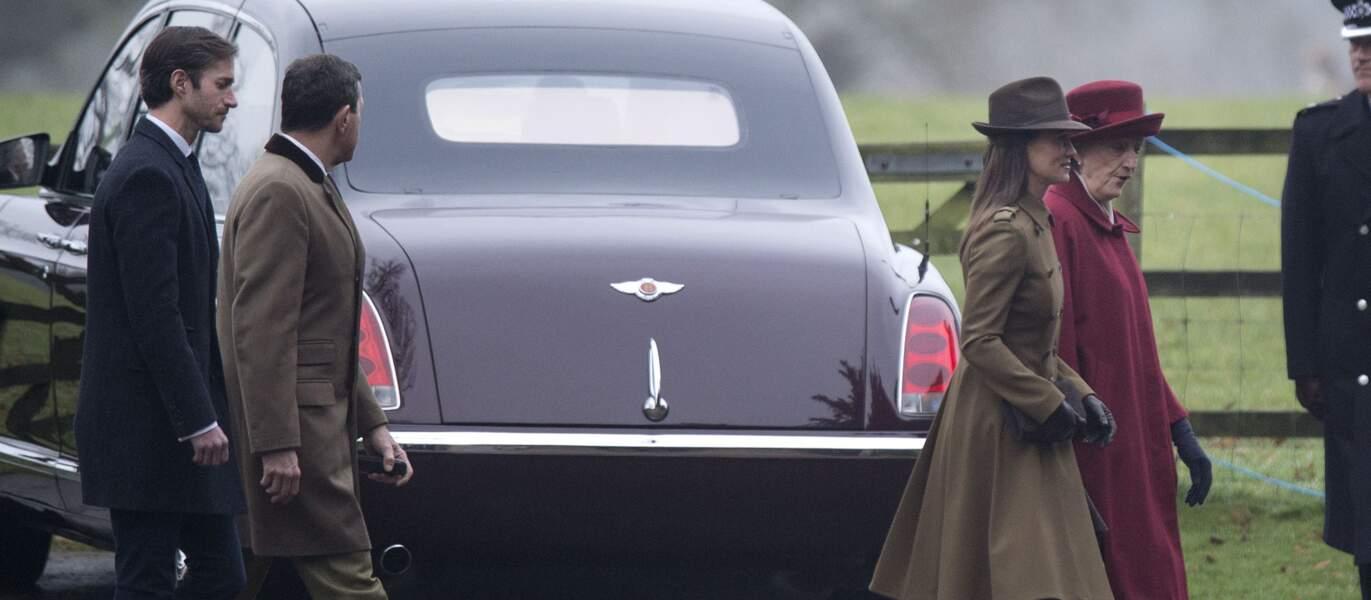 Sortie commune pour les Middleton et la famille royale