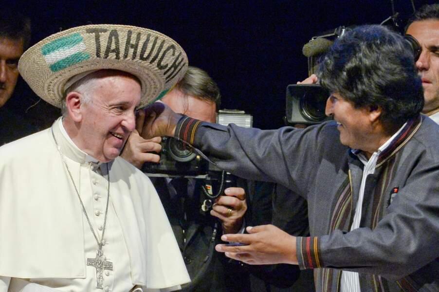 Le pape en Bolivie