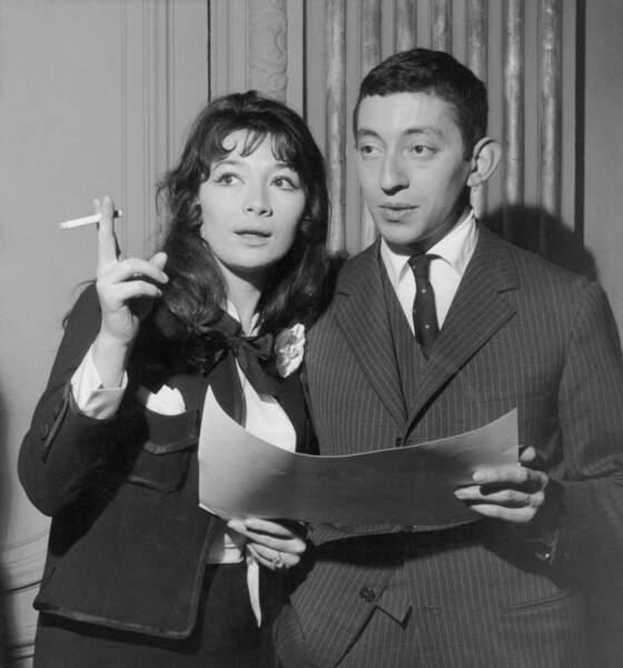 Juliette Gréco et Serge Gainsbourg en 1959