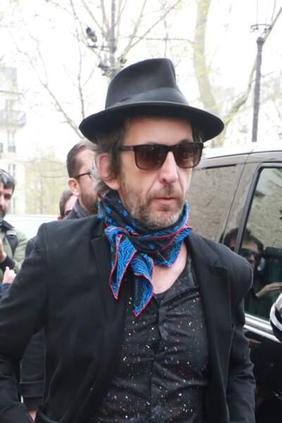 Arthur H - People à la sortie de l'hommage à Jacques Higelin au Cirque d'Hiver à Paris le 12 avril 2018.