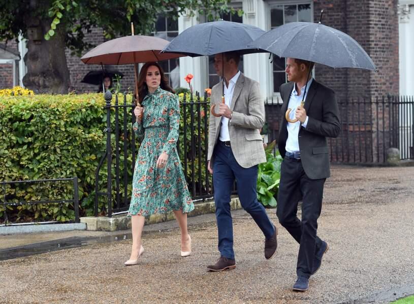 En août 2017, William et Kate ont pris possession de l'Appartement 1A, autrefois occupé par la princesse Margaret