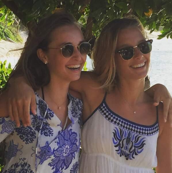 Emma Smet et sa sœur aînée, Ilona Smet