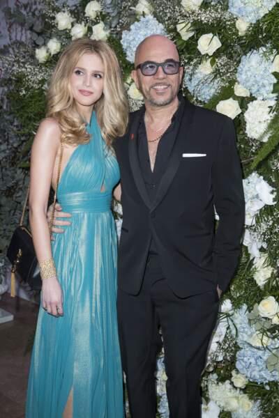 Pascal Obispo et sa femme Julie Hantson très amoureux au dîner du Sidaction