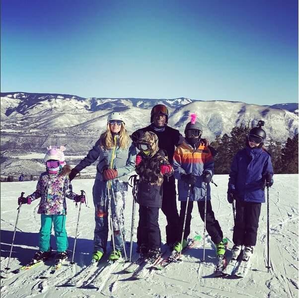 Heidi Klum, Seal et leurs enfants