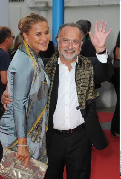 Olivier Dassault et sa femme Natacha Nikolajevic