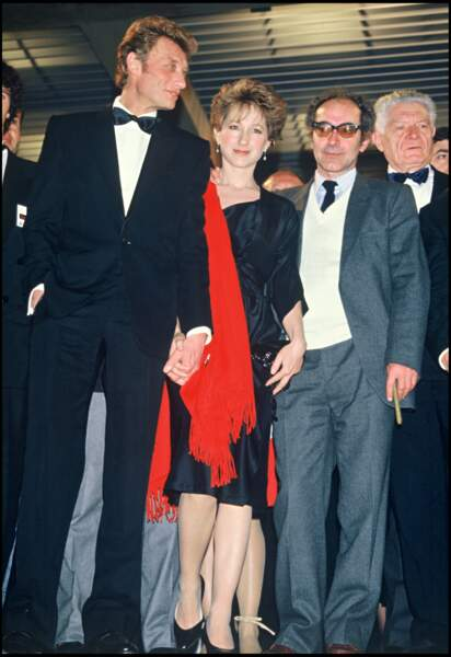 """Johnny Hallyday et Nathalie Baye ont joué ensemble dans le film """"Détective"""" de Jean-Luc Godard"""