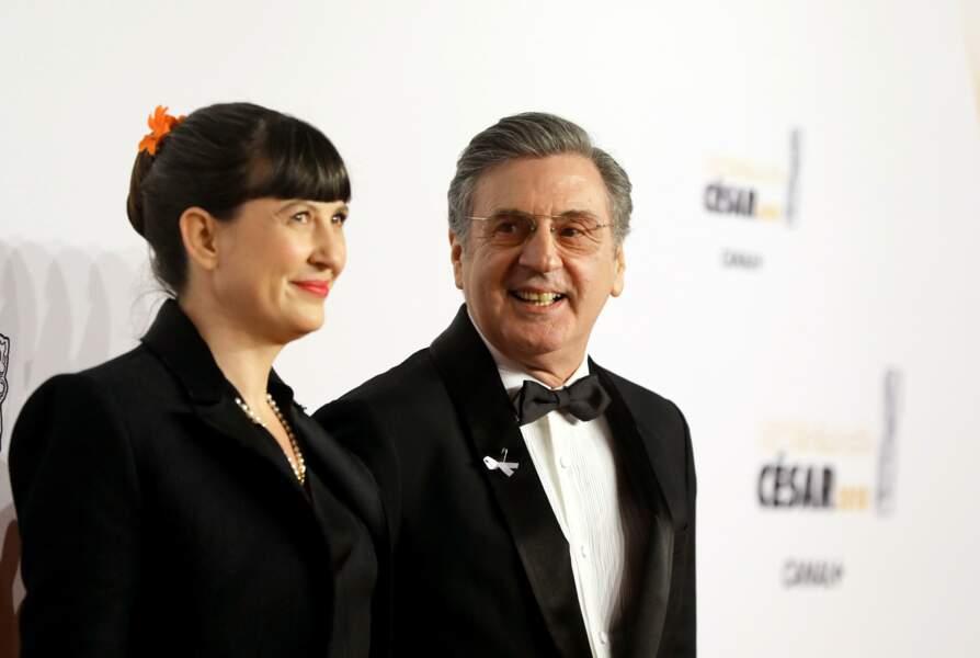 Daniel Auteuil et son épouse Aude Ambroggi