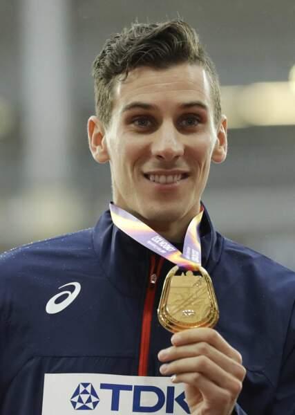 Pierre-Ambroise Bosse a remporté la médaille d'or au 800 mètres