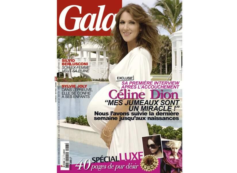 """Céline Dion """"Mes jumeaux sont un miracle !"""""""
