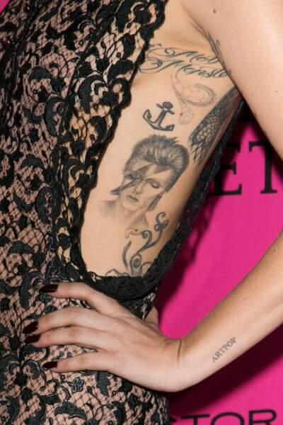 l'hommage à David Bowie de Lady Gaga
