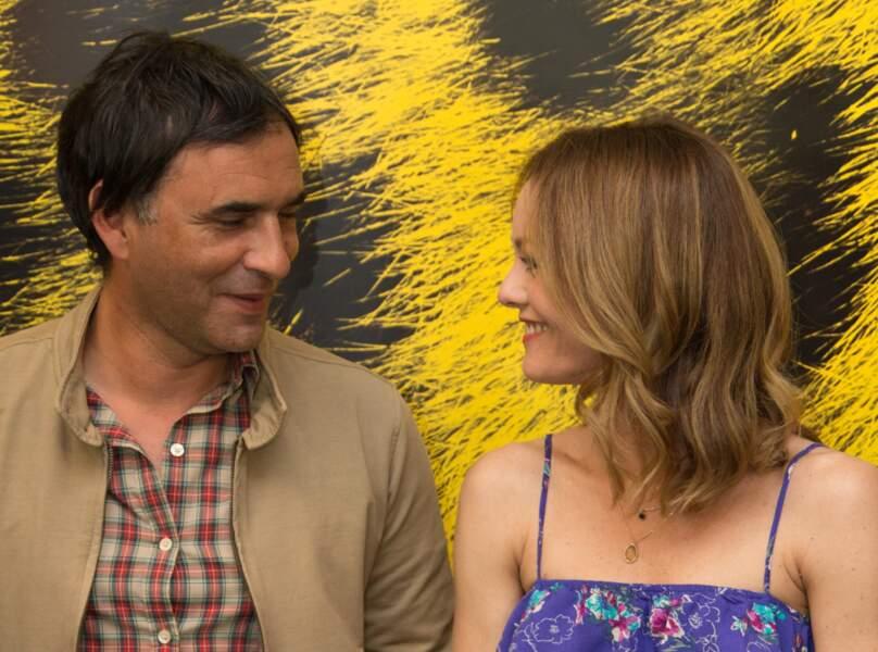"""Vanessa Paradis et Samuel Benchetrit au photocall du Film """"Chien"""""""