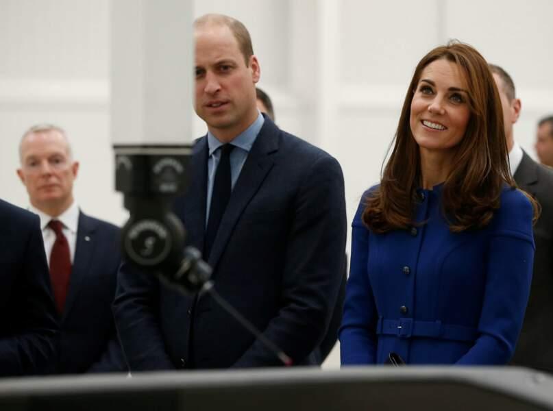 Kate Middleton et le prince William : un couple chic et de plus en plus tactile