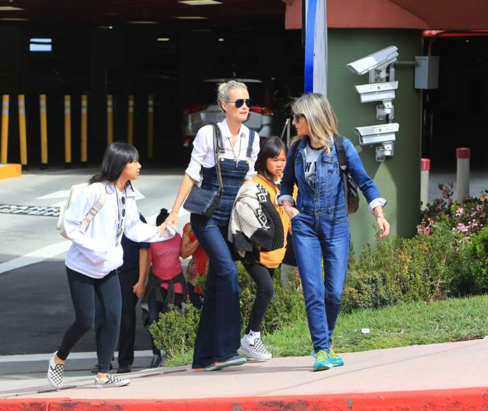 Laeticia Hallyday, Jade et Joy passent un moment entre filles