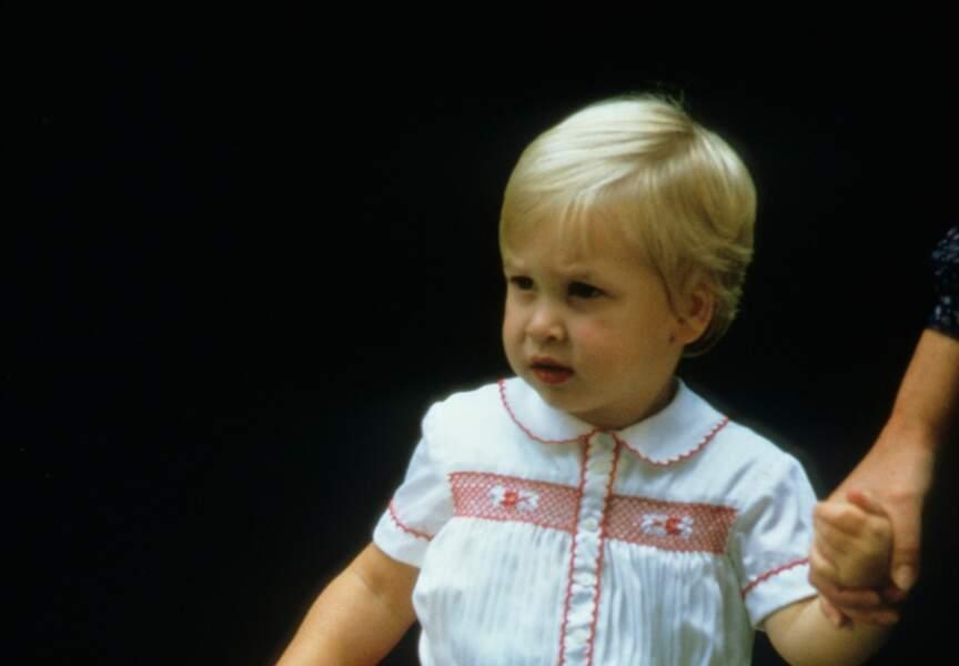 Le tout jeune Prince William