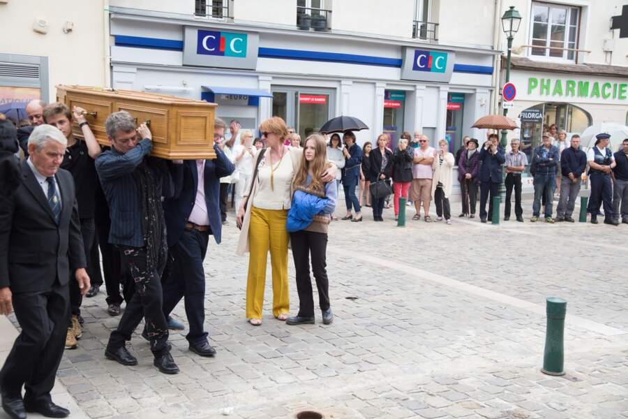 Le cercueil de Claude Rich