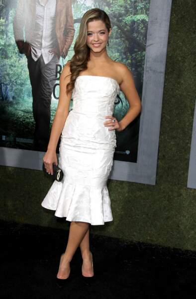 Sasha Pieterse à Hollywood en février 2013