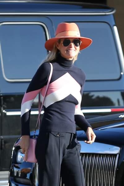 Laeticia Hallyday va héberger sa mère Françoise pendant plusieurs jours, à Los Angeles