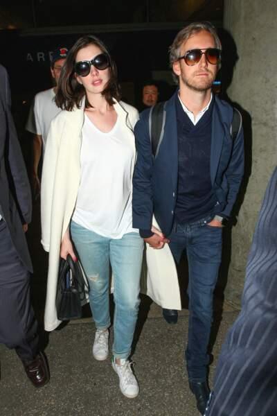 Anne Hathaway et Adam Shulman