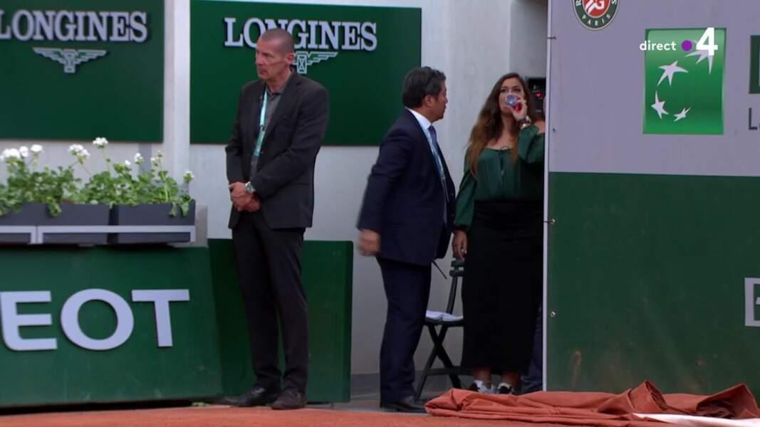Marion Bartoli discrète à Roland-Garros