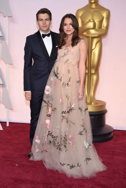 Keira Knightley enceinte de son premier bébé à 6 mois de grossesse