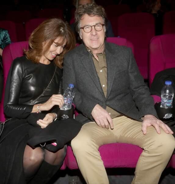 François Cluzet et sa femme Narjiss Slaoui-Falcoz