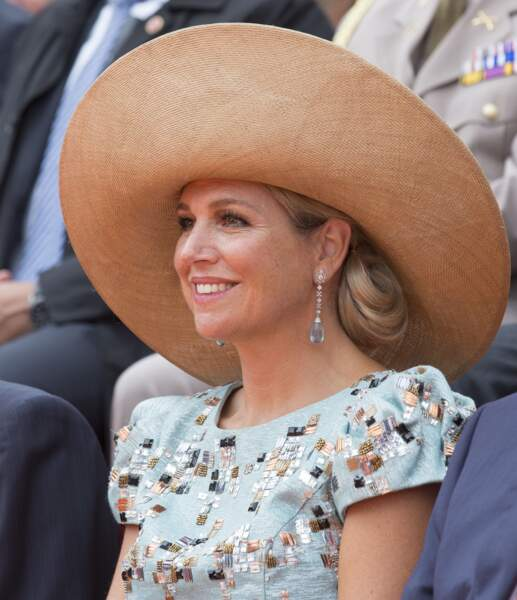 La reine Maxima des Pays-Bas à Maastricht, août 2014                        Photo by Michel Porro/WireImage