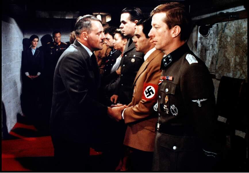"""Le dictateur à la petite moustache a également été joué par l'acteur oscarisé Anthony Hopkins dans """"Le Bunker"""""""