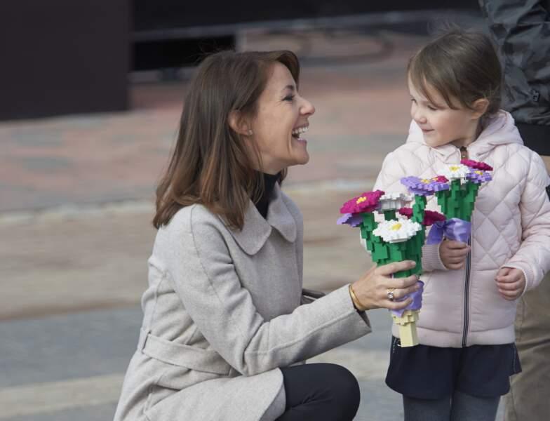 La Princesse Marie de Danemark et sa fille la Princesse Athena en visite à Legoland, le 19 Mars 2016