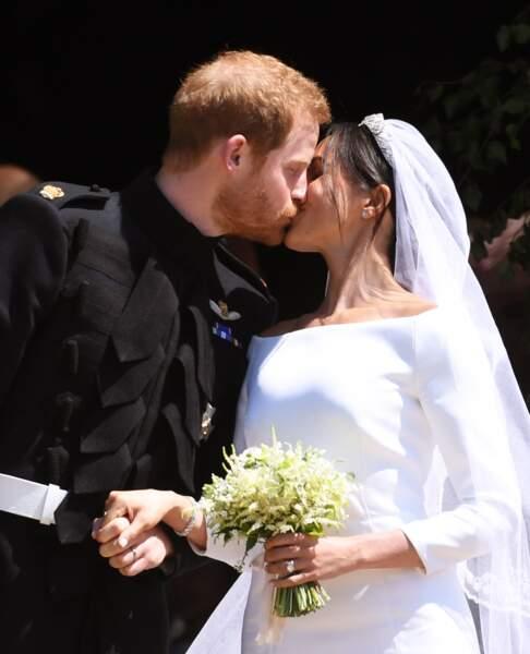 Un baiser particulièrement attendu par tout le monde