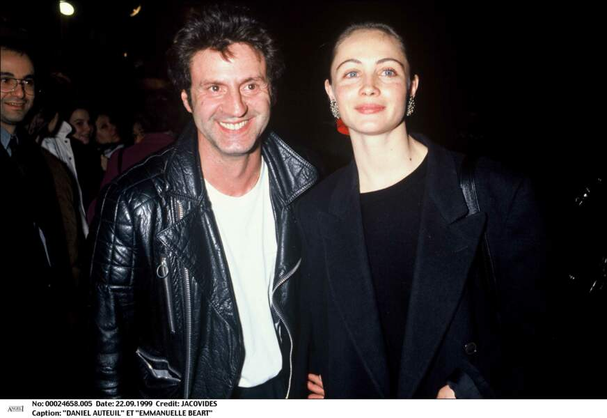 Daniel Auteuil et Emmanuelle Béart