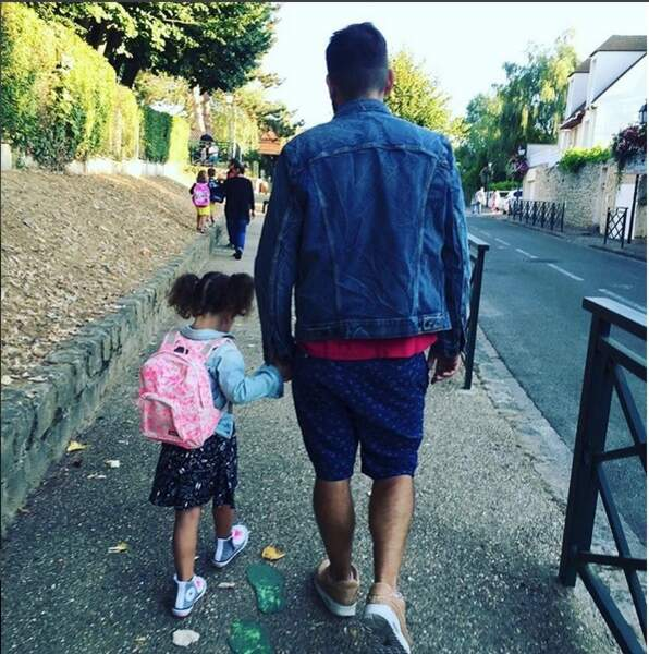 Laurent Ournac et sa fille Capucine