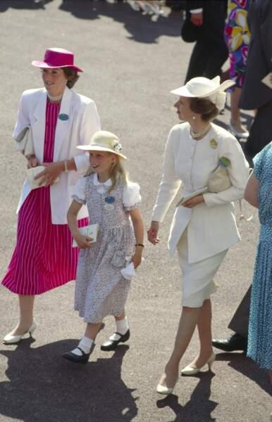 Lorsque Zara Tindall a accompagné sa mère, la princesse Anne, au Royal Ascot