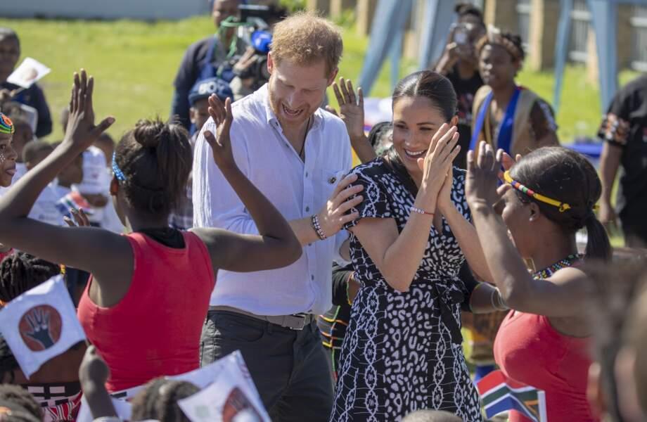 Le prince Harry portait lui aussi un bracelet portant l'inscription Justice