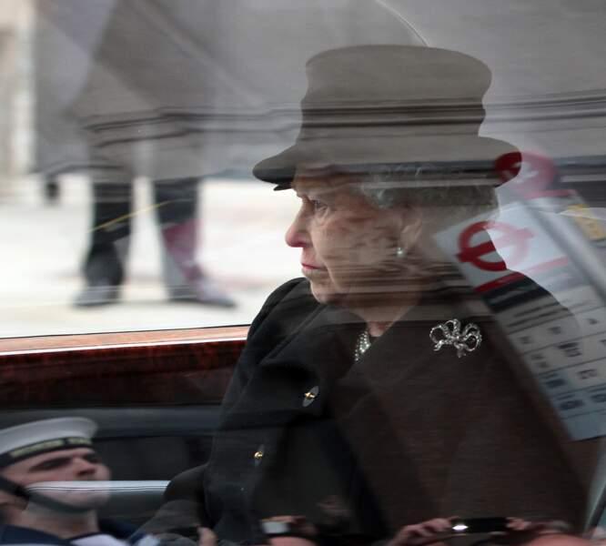 Quand la reine Elizabeth a assisté aux funérailles de l'une de ses plus fidèles employées