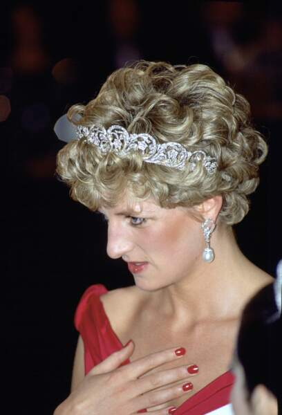 Quand Diana a porté du vernis de couleur