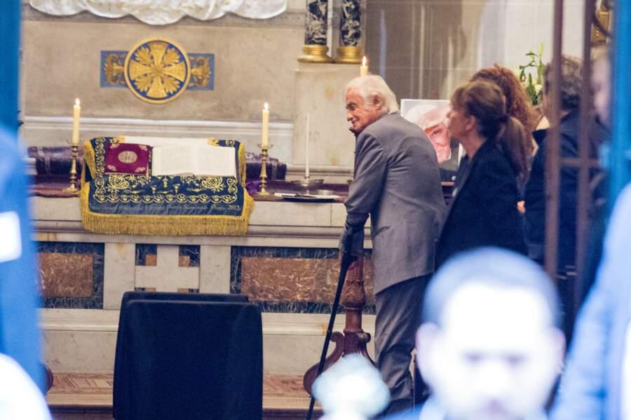 Jean-Paul Belmondo a dit au revoir à son ami Charles Gérard dans la cathédrale arménienne Saint-Jean-Baptiste