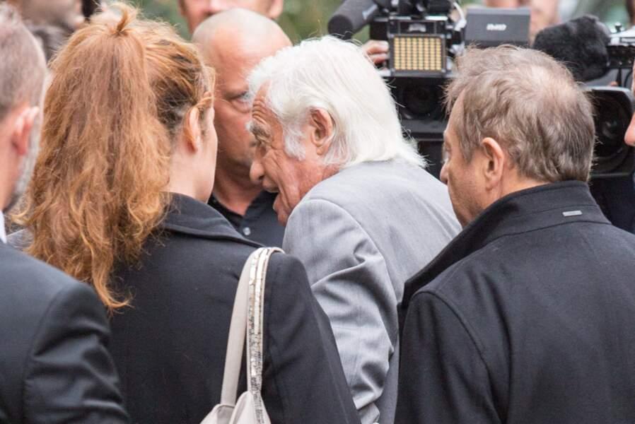 Jean-Paul Belmondo était bien évidemment présent aux obsèques de Charles Gérard