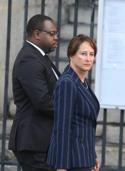 Ségolène Royal aux obsèques de Jacques Chirac, en l'église Saint-Sulpice, à Paris, le 30 septembre 2019.