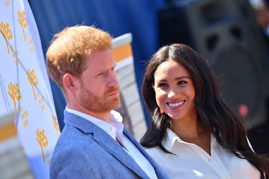 Après six jours de séparation, Meghan Markle et le prince Harry se retrouvent en Afrique du Sud.
