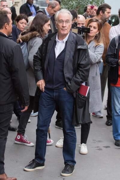 L'acteur Bernard Le Coq a également répondu présent à la cathédrale Saint-Jean-Baptiste de Paris