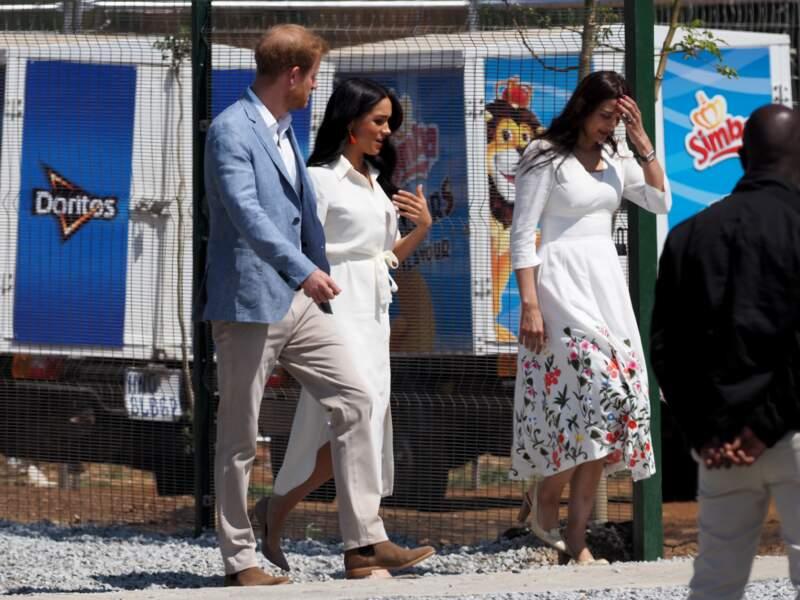 Les parents d'Archie terminent leur royal tour en Afrique à Johannesburg.