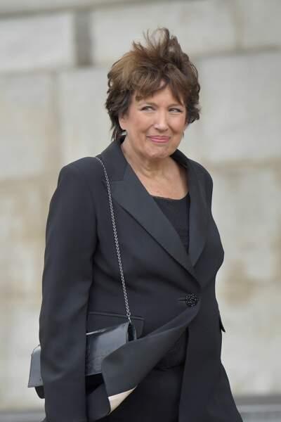 Roselyne Bachelot aux obsèques de Jacques Chirac, en l'église Saint-Sulpice, à Paris, le 30 septembre 2019.